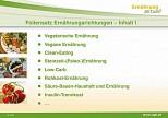 UGB-Foliensatz Ernährungsrichtungen