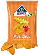 Mayka Mais-Chips mit Paprika oder Natur mit Meersalz