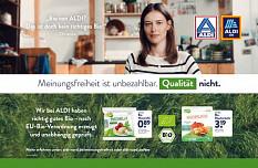 Qualitätskampagne bei Aldi