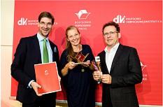 Der Deutsche Verpackungspreis 2016 Kategorie Nachhaltigkeit - geht an: Biobrush verpackt in NatureFlexTM