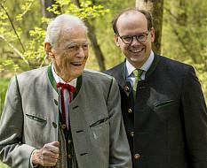 Otto Greither ist 95 geworden