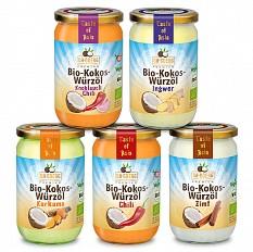 Neu im Kokosnuss-Sortiment: Die Dr. Goerg Premium Bio-Kokos-Würzöle
