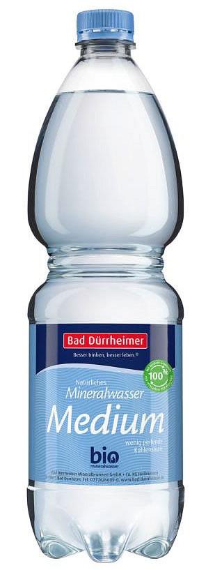 Bad Dürrheimer Mineralbrunnen mit PET-Flaschen aus 100 Prozent Recyclat