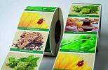Etiketten aus Graspapier