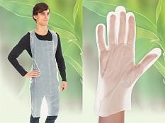 Weltneuheit: Bio-Einwegbekleidung