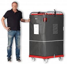 Rollcontainer ohne Plastikmüll verschicken