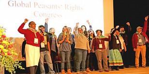 Bauern kämpfen für ihre Rechte