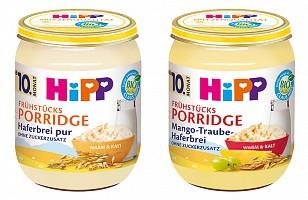 Neu & Einzigartig: HiPP Frühstücks-Porridge