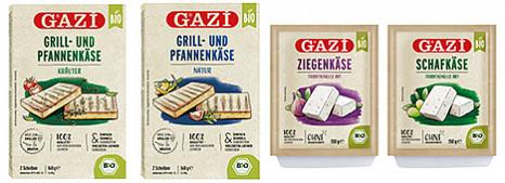 GAZi Bio-Käsespezialitäten