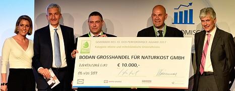 Ausgezeichnet: Bodan erhält Preis für nachhaltige Logistik