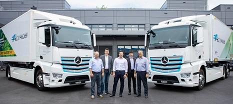 Elektro-Lkws jetzt auch für die Schweiz