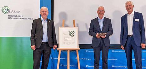 Franz-Theo Gottwald mit B.A.U.M. Umwelt- und Nachhaltigkeitspreis geehrt