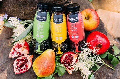 Sommer Sonne Superdrinks - innovative Bio Chia Drinks von Green Panda