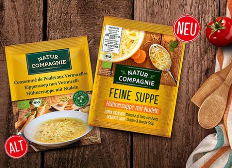 Marken-Relaunch bei Natur Compagnie