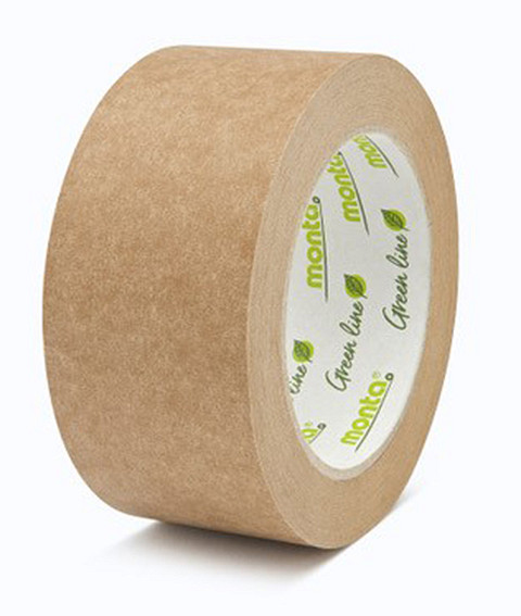 Natürlich verpackt mit plastikfreiem Papierklebeband