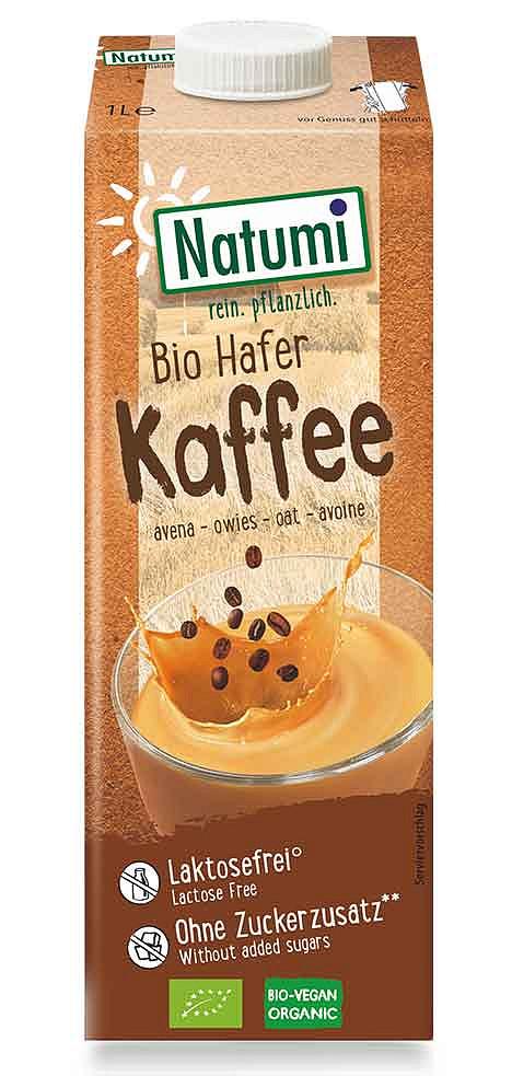 Der neue Bio Hafer Kaffee Drink von Natumi
