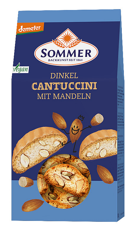 Sommer: Dinkel Cantuccini