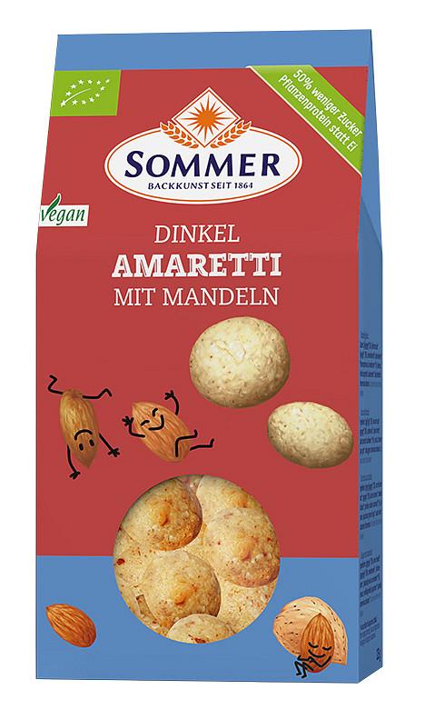 Sommer: Dinkel Amaretti
