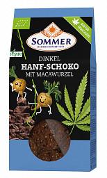 Sommer: Dinkel Hanf-Schoko mit Macawurzel