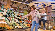 Rewe jetzt bundesweit mit unverpacktem Bio-Obst und -Gemüse
