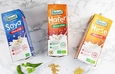Natumi: glutenfreie Pflanzendrink-Vielfalt