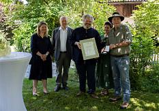 Rudolf Bühler mit Walter Scheel Medaille geehrt