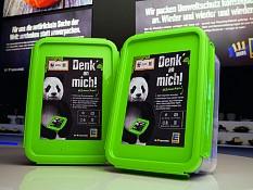 Haltbare Box statt Plastiktüten oder Papier