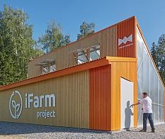 Modulare Technologie für städtische Farmen