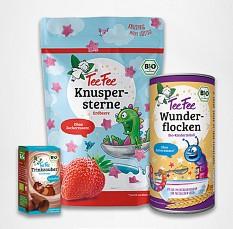 1, 2, 3, Frühstückszauberei! Mit Wunderflocken, Knuspersternen und Trinkzauber macht TeeFee für die Kleinen das Frühstück ganz groß