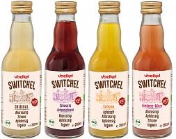 Switchel – Ahornsirup. Apfelessig. Ingwer.