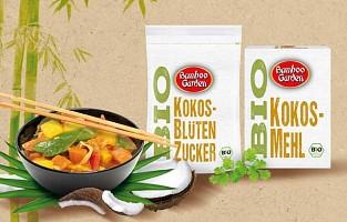 Neue Bio-Kokosprodukte von Bamboo Garden Bio