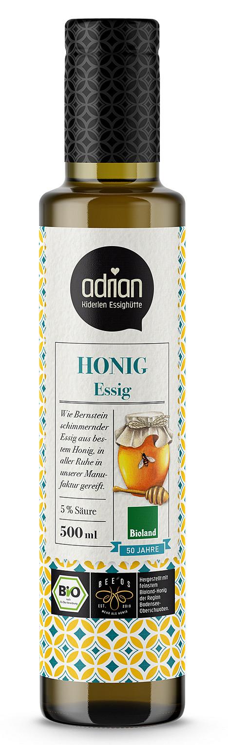 adrian Honig Essig ist Bioland-Jubiläumsprodukt!