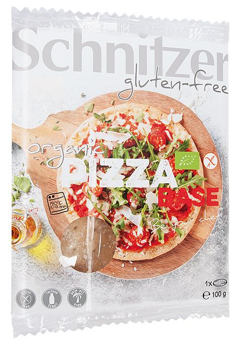 Schnitzer gluten-free Pizza Base - Jetzt im Single Pack