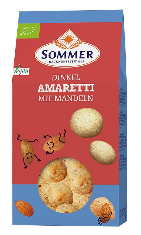 Dinkel Amaretti mit Mandeln