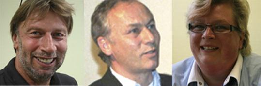 Kaufmann <b>Peter Wehrmann</b> (Mitte), Ernährungsberaterin Birgit Redecker(re.) - selly_gab_schub_2